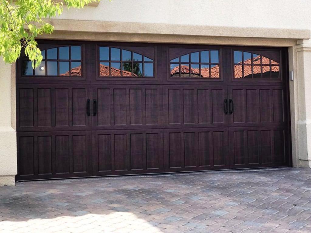 16x2 American Garage Door Schmidt Gallery Design