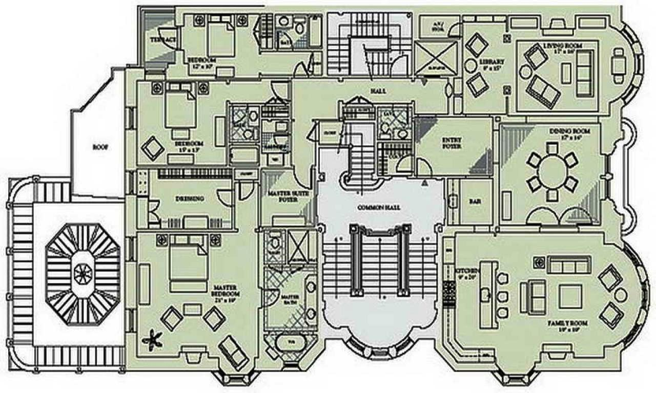 American Mansion House Plans