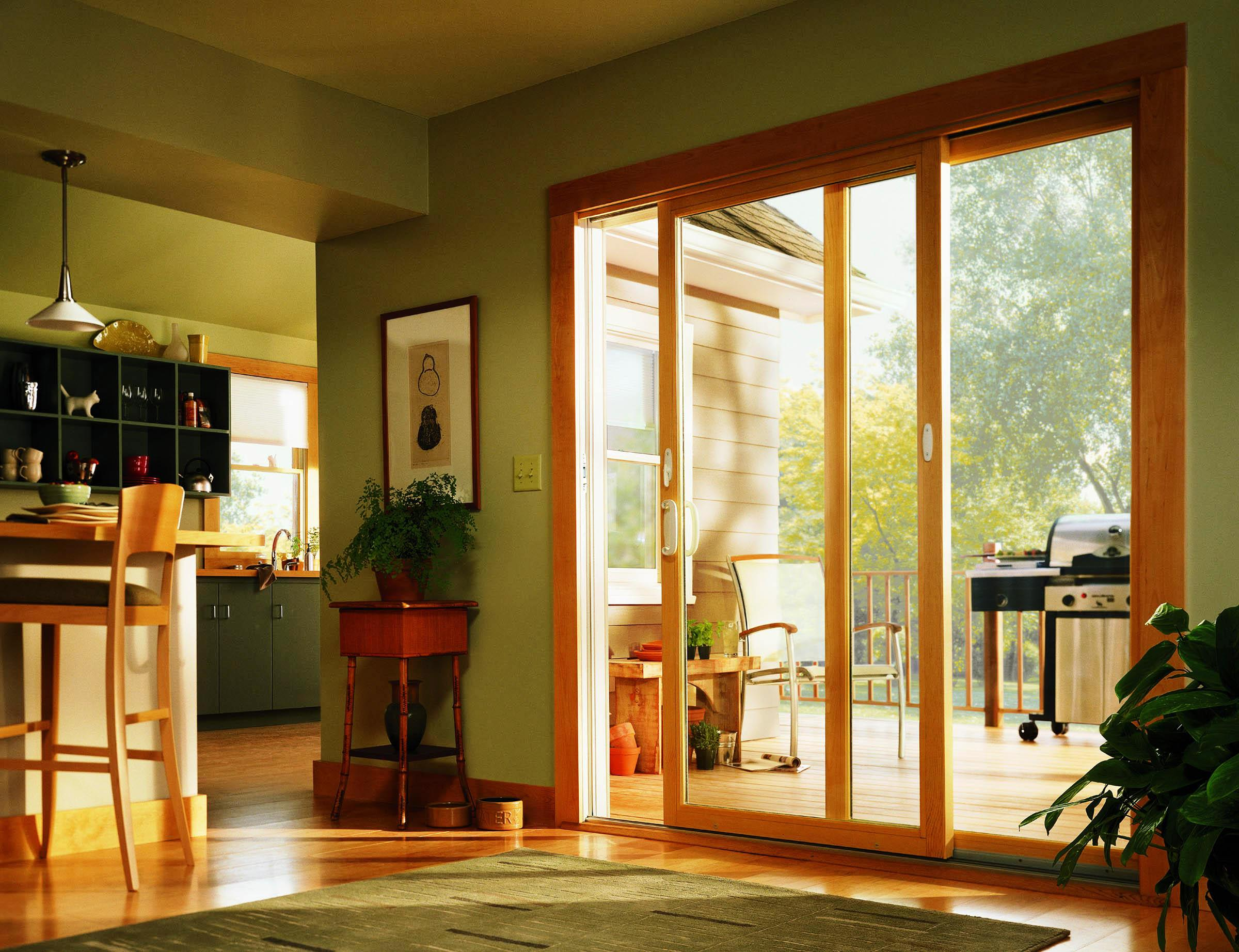 Andersen Patio Doors With Blinds Schmidt Gallery Design