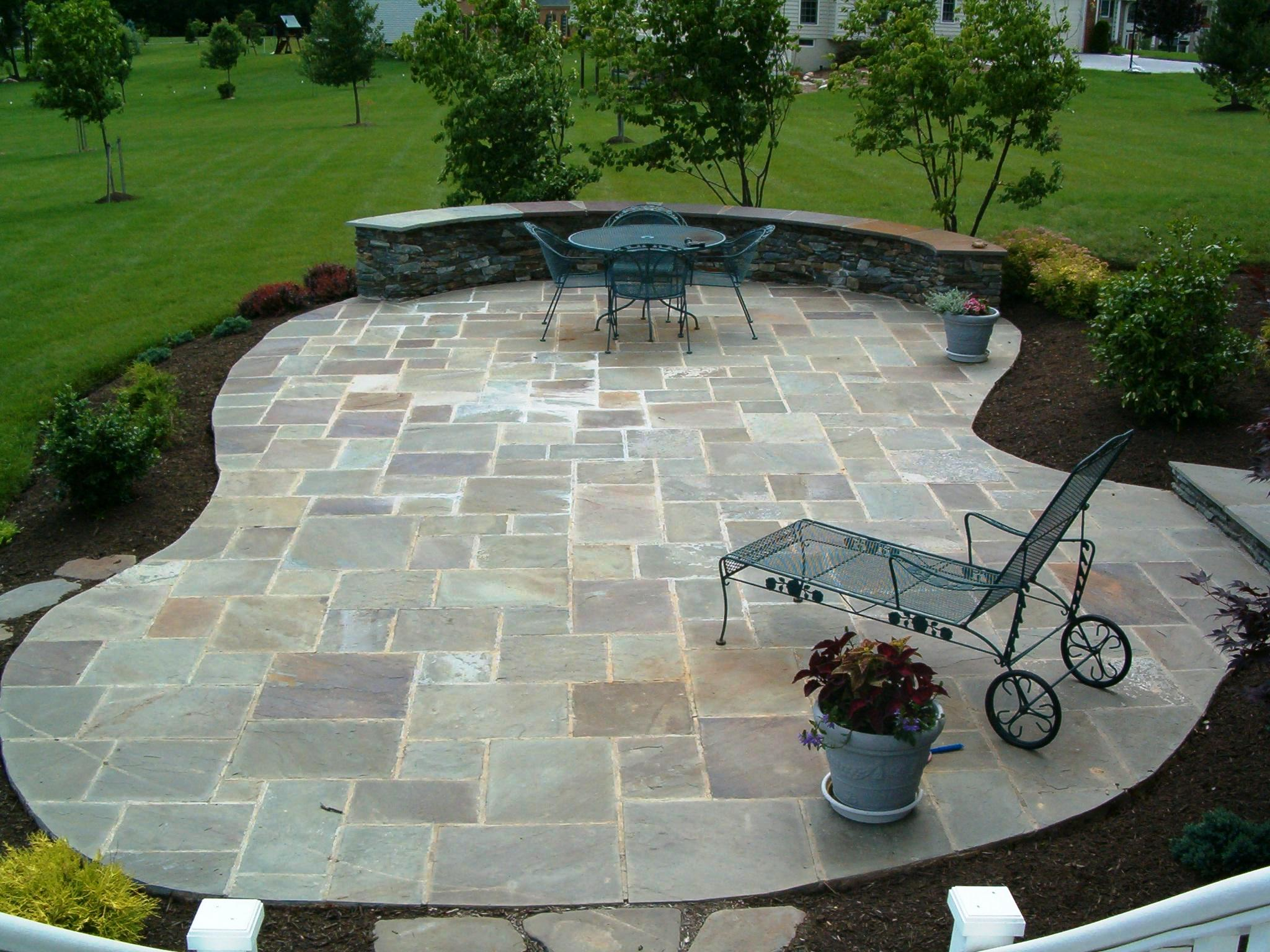Angreeable Paver Patio Border Ideas