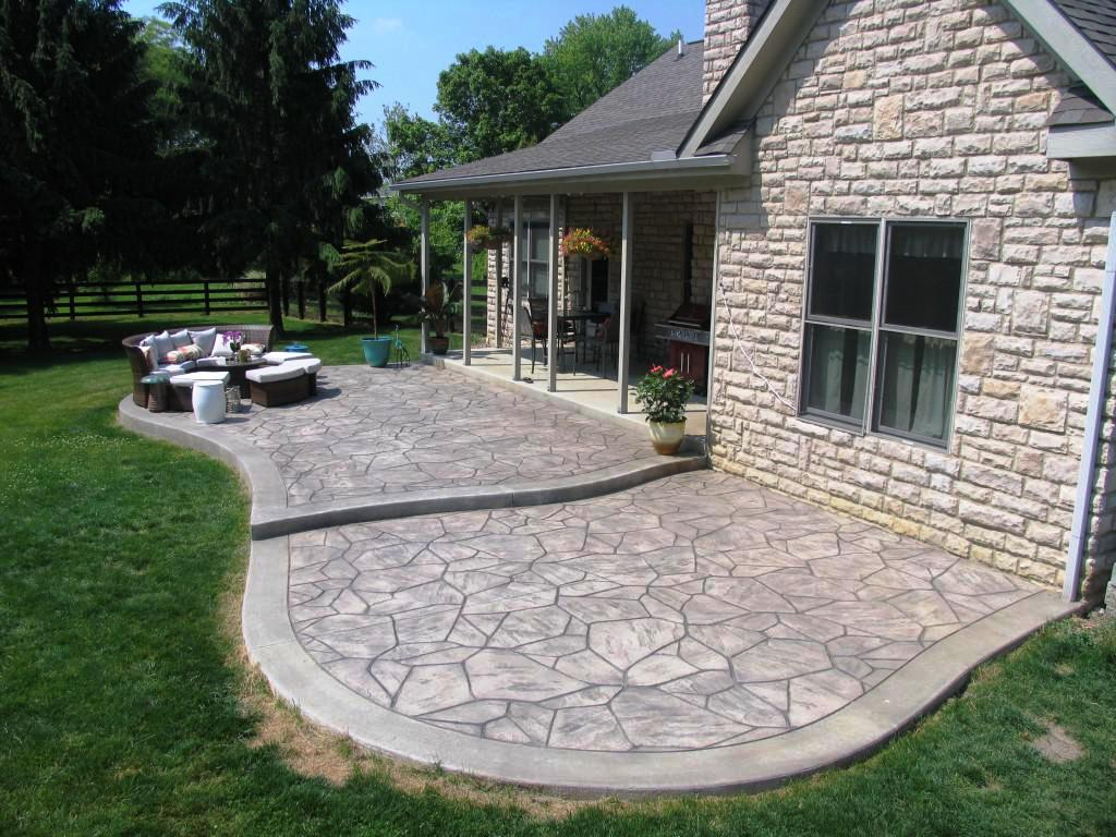 choosing concrete patio ideas — schmidt gallery design