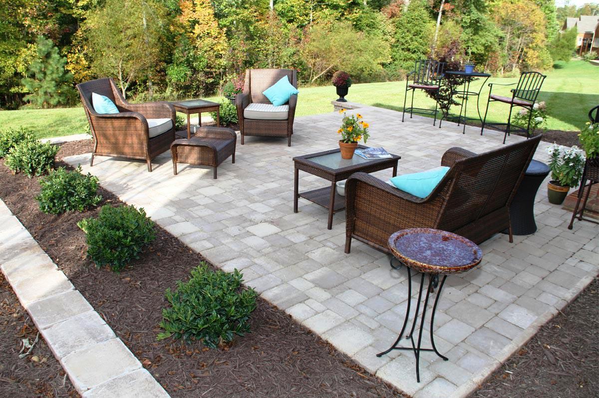 paver patio ideas on a budget — schmidt gallery design