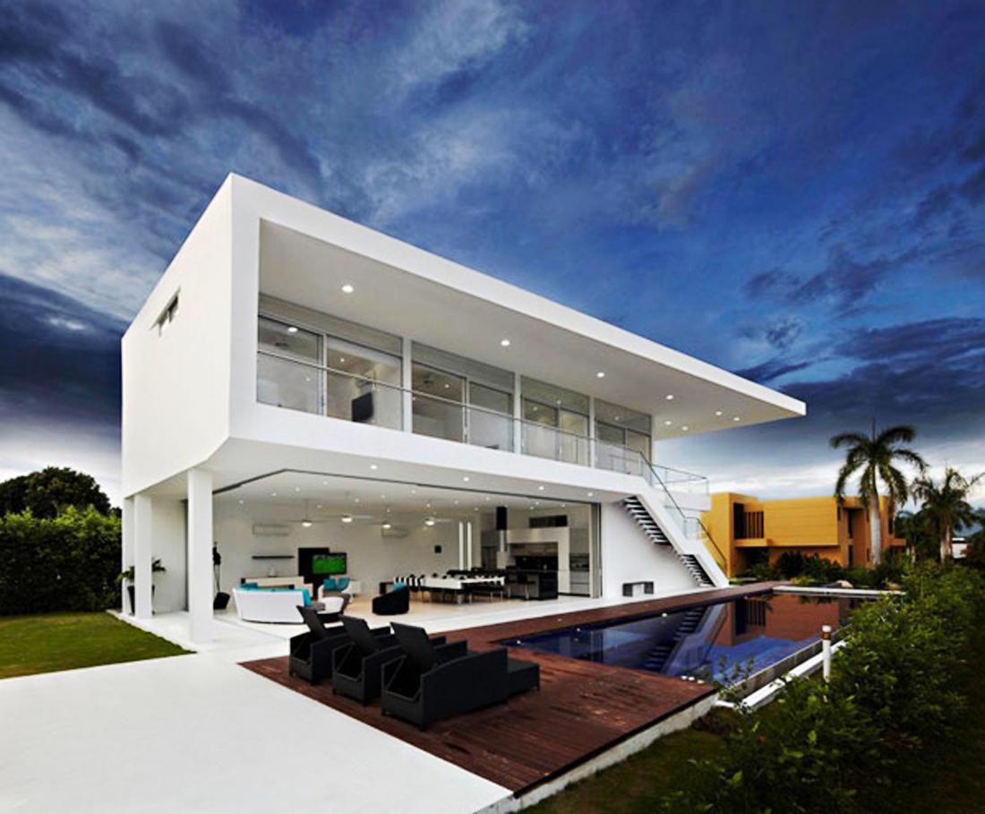 Free luxury modern house plans