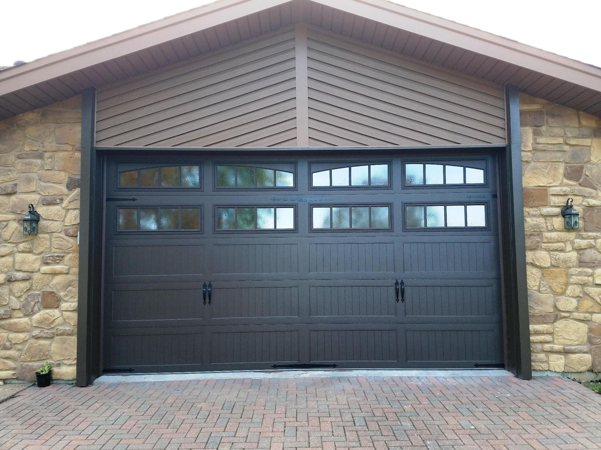 Garage Door Window Inserts Black