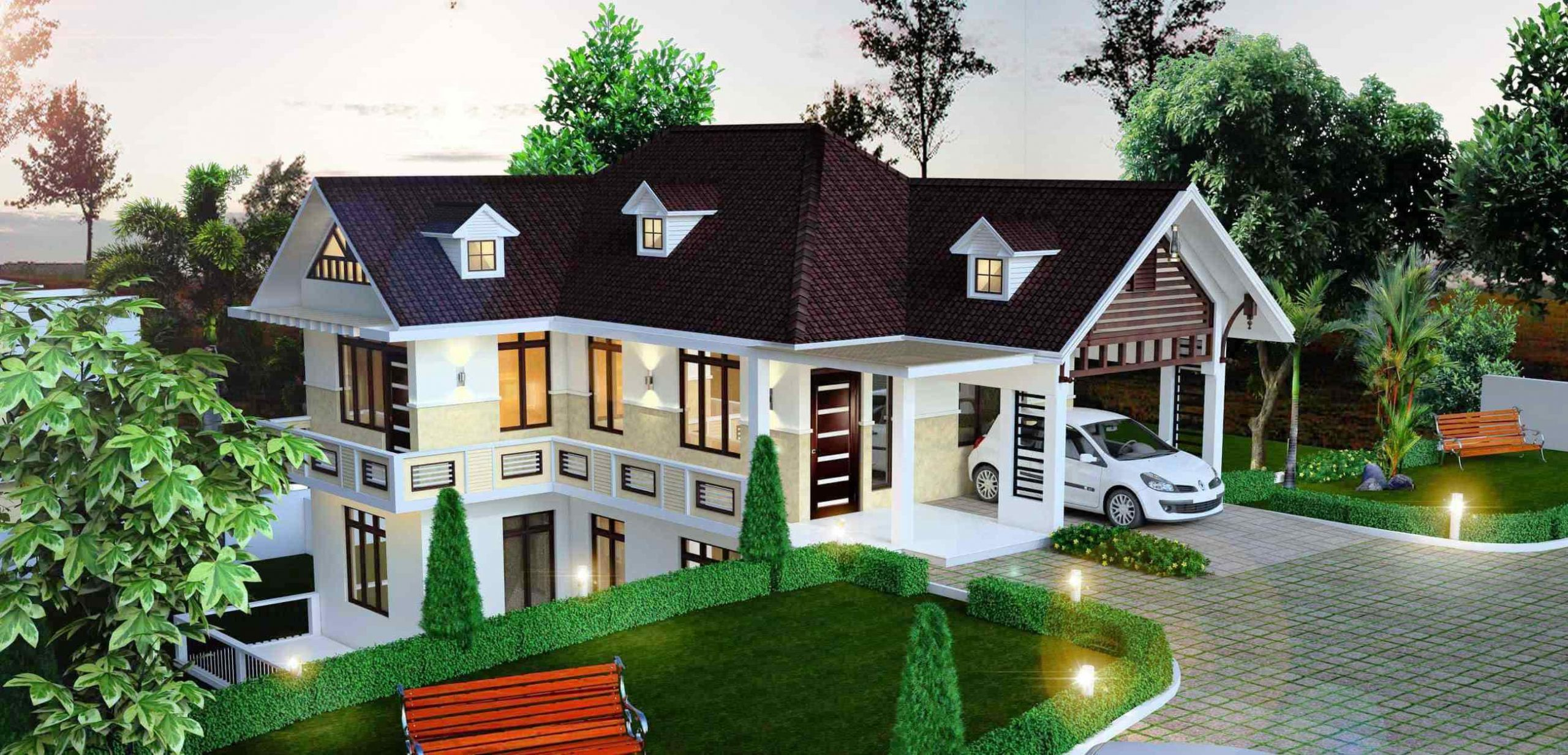 Hillside Free Modern House Plans — Schmidt Gallery Design