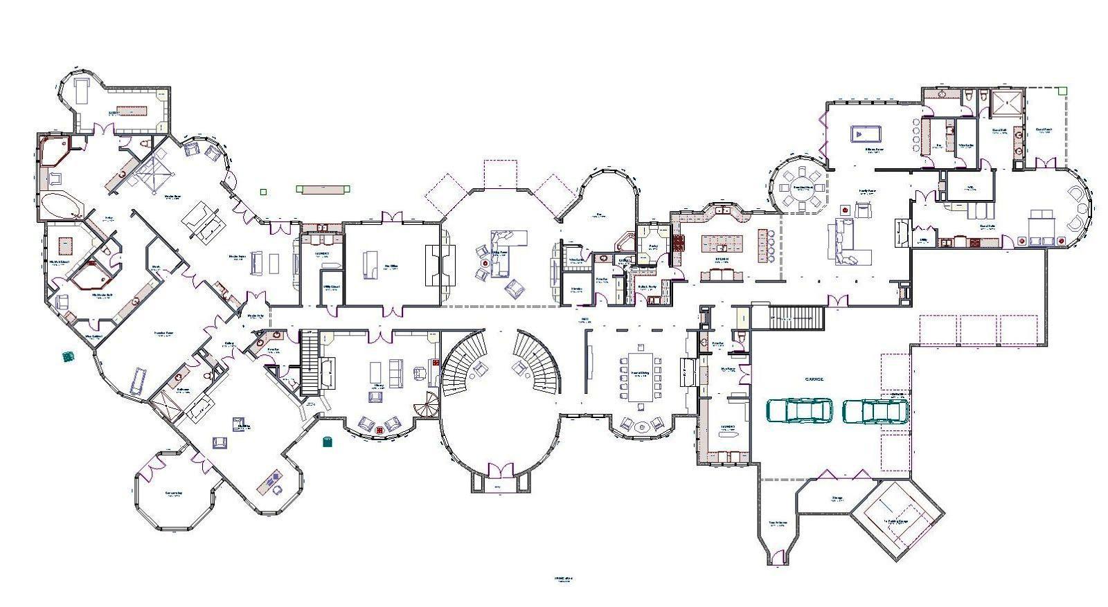 Mansion Floor Plans With Secret Passages