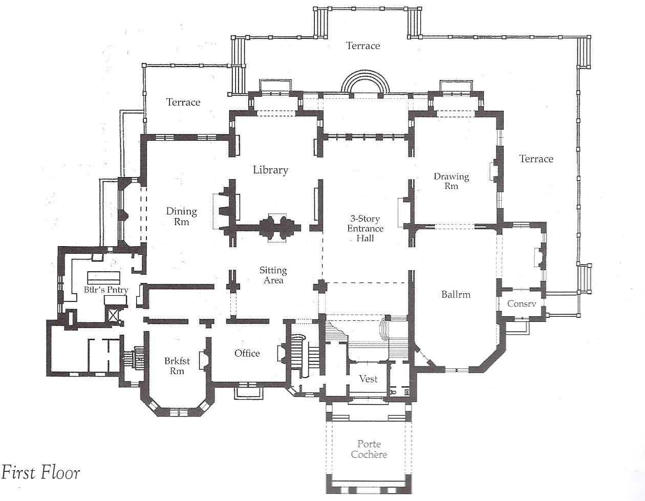 Mansion Floor Plans With Secret Passages Schmidt Gallery