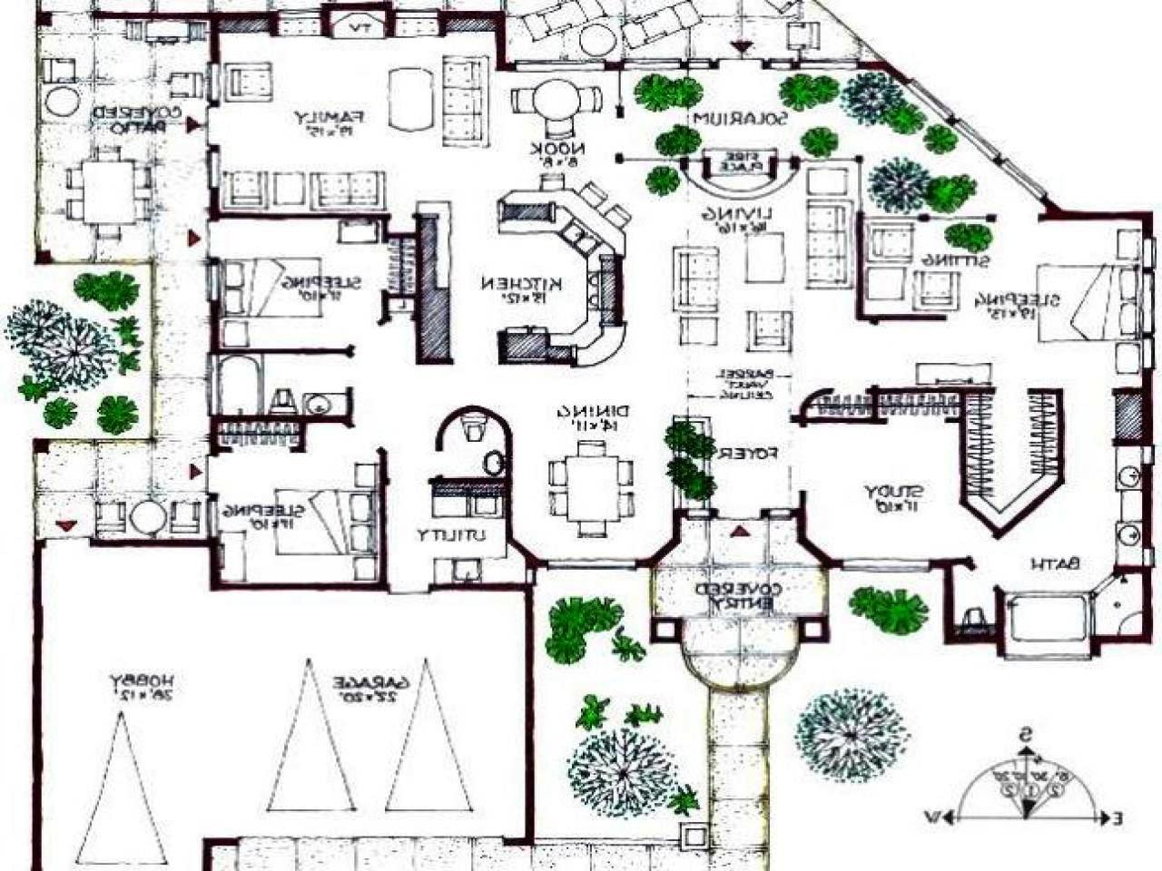 Amazing Mansion House Plans — Schmidt Gallery Design