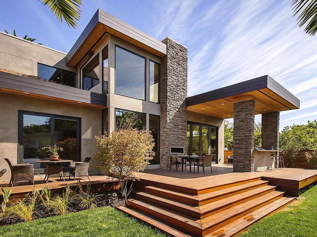 Modern homes narrow plot schmidt gallery design for Sale moderne