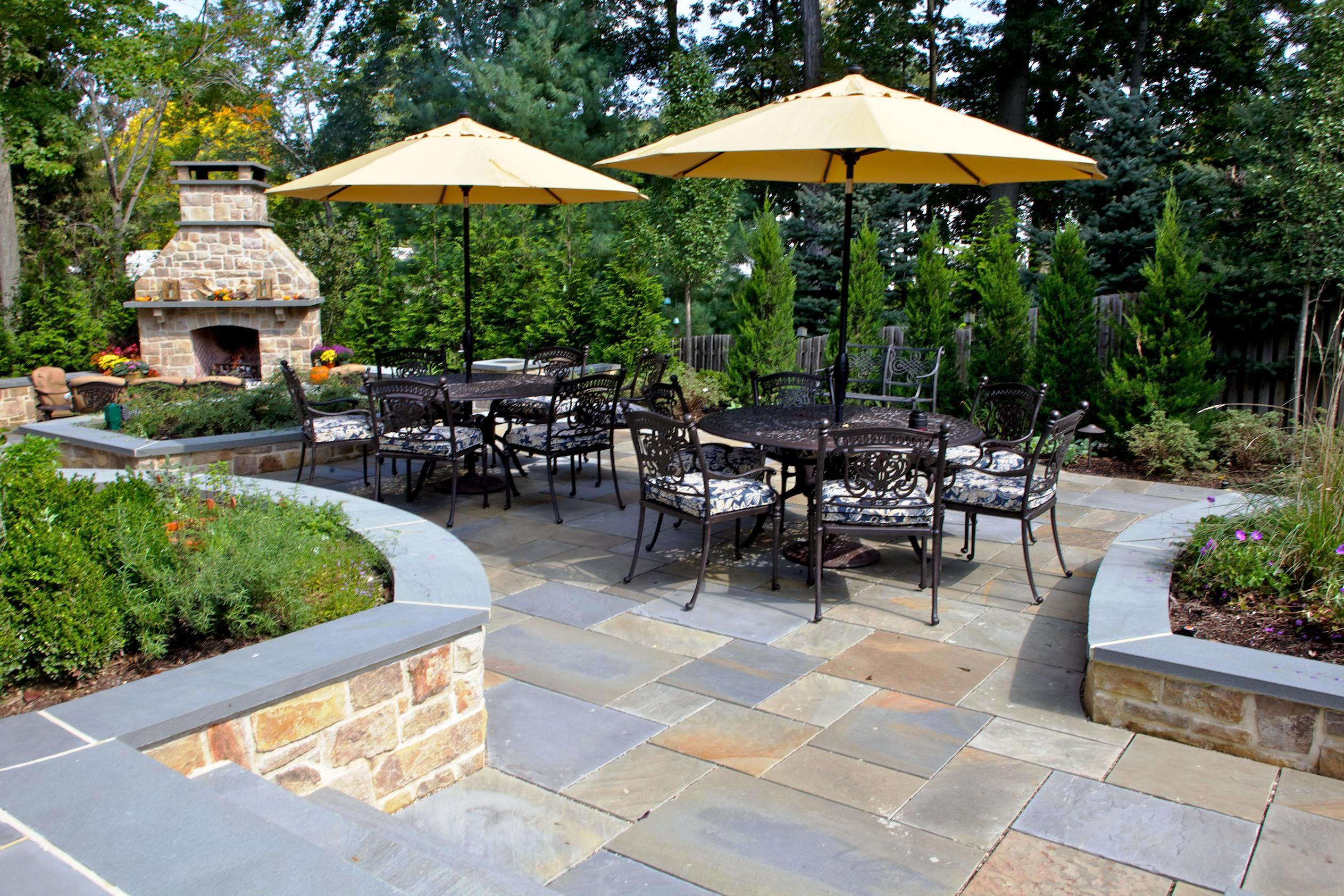 Paver Patio Ideas On A Budget : Schmidt Gallery Design ... on Small Backyard Brick Patio Ideas id=26601