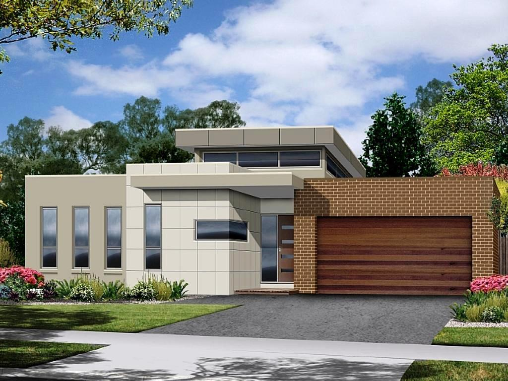 Small Modern House Plans Flat Roof : Schmidt Gallery ...