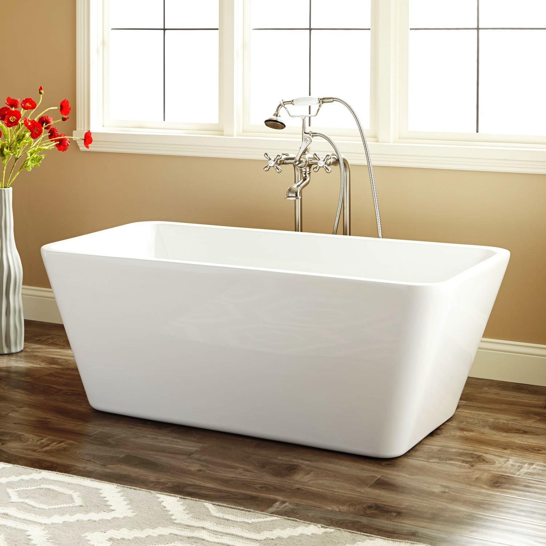 Treece Freestanding Acrylic Tub