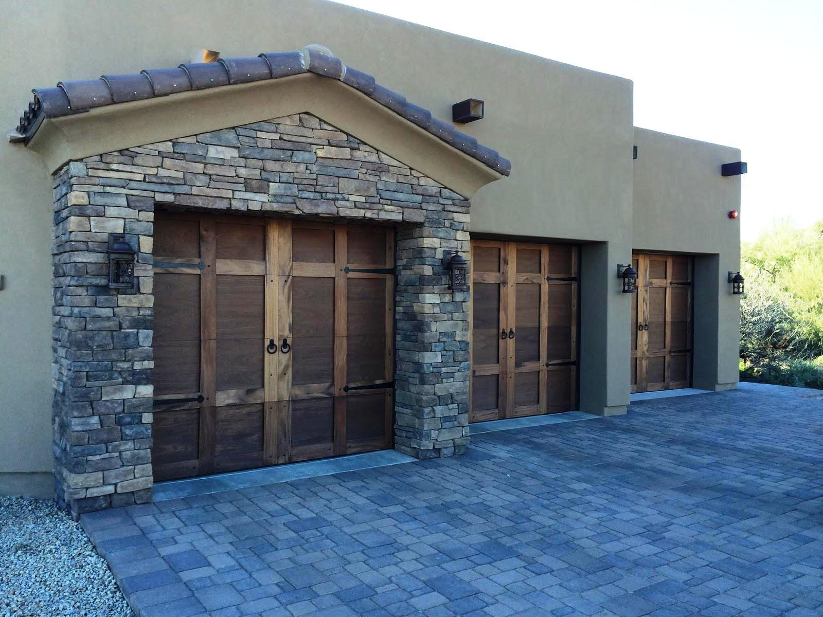 Rustic Custom Garage Doors