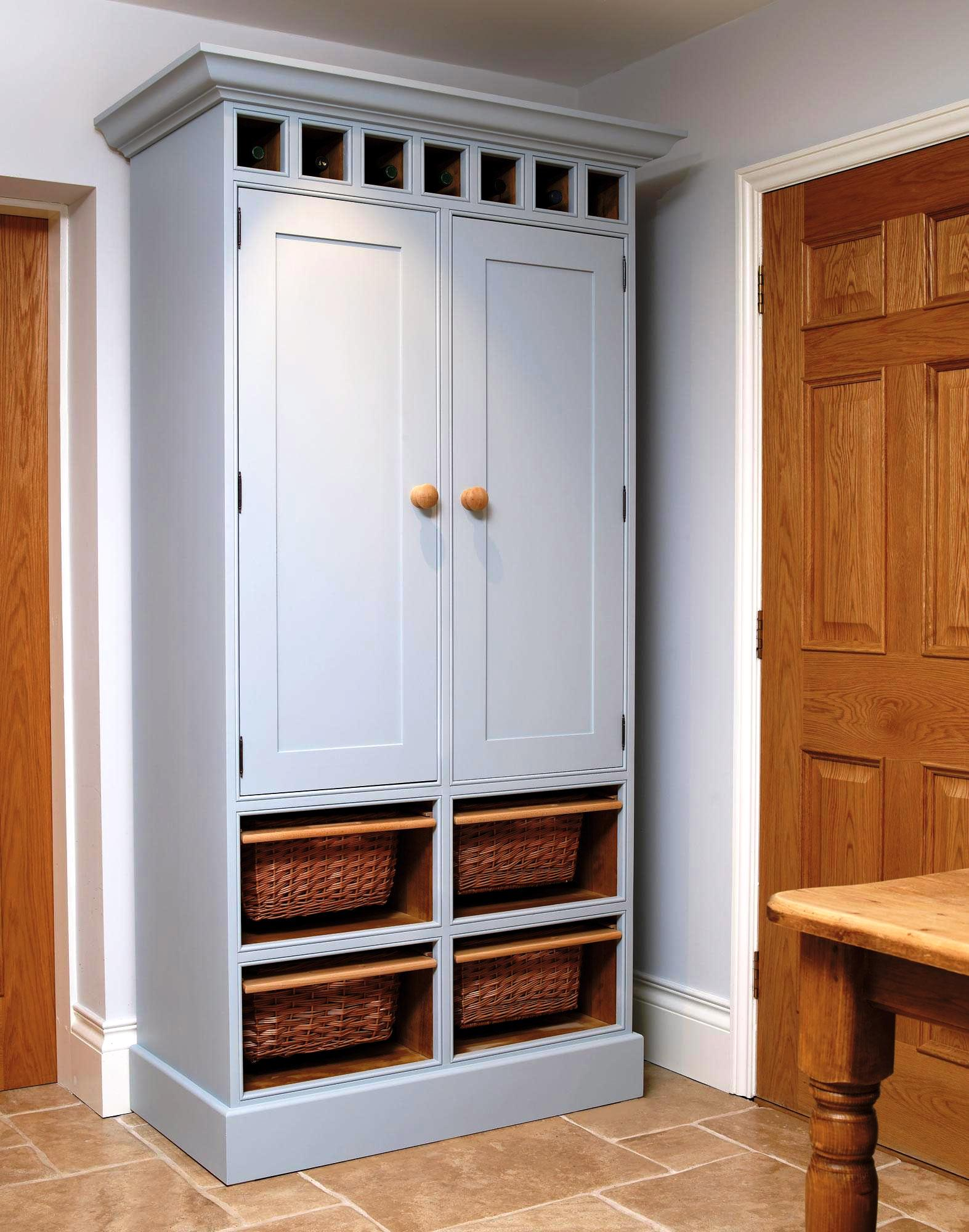 Appealing Freestanding Pantry Cabinet Schmidt Gallery Design