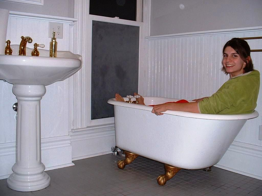 Short bathtubs home depot schmidt gallery design - Small bathroom with tub ...