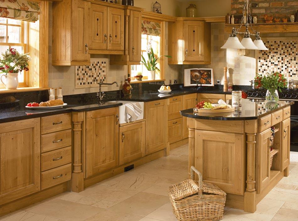 Bleached Oak #Kitchen with Skylight http://rilane.com ...