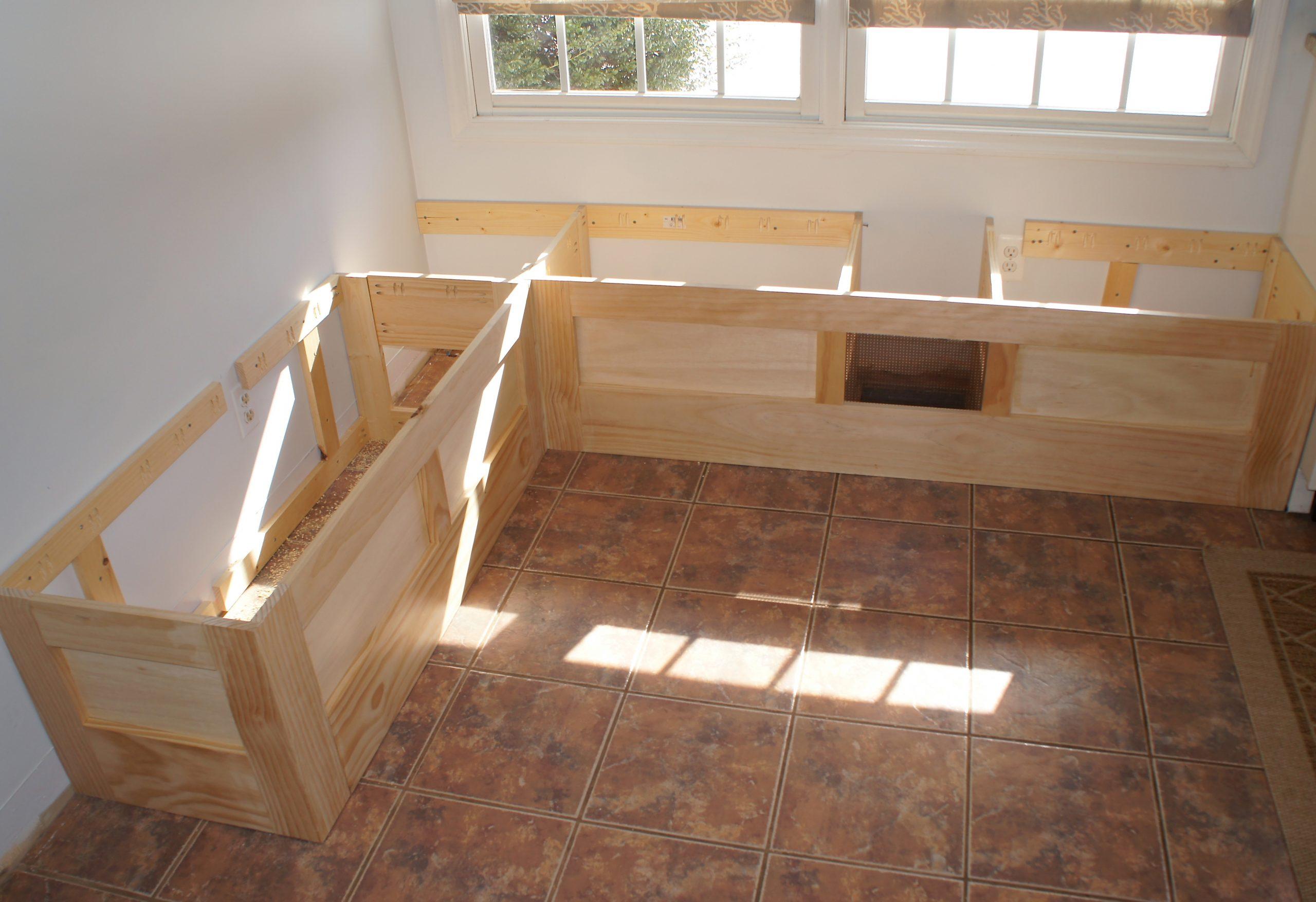 Make Diy Kitchen Booth Seating Schmidt Gallery Design
