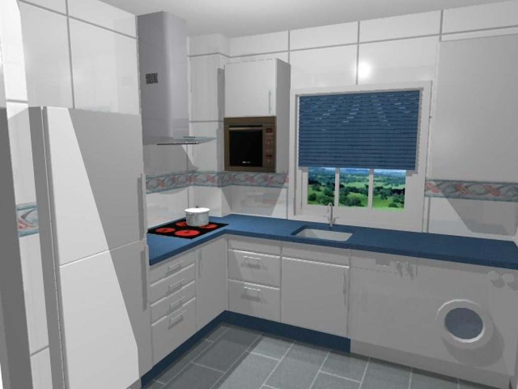 Home Architec Ideas Modern Small White Kitchen Design