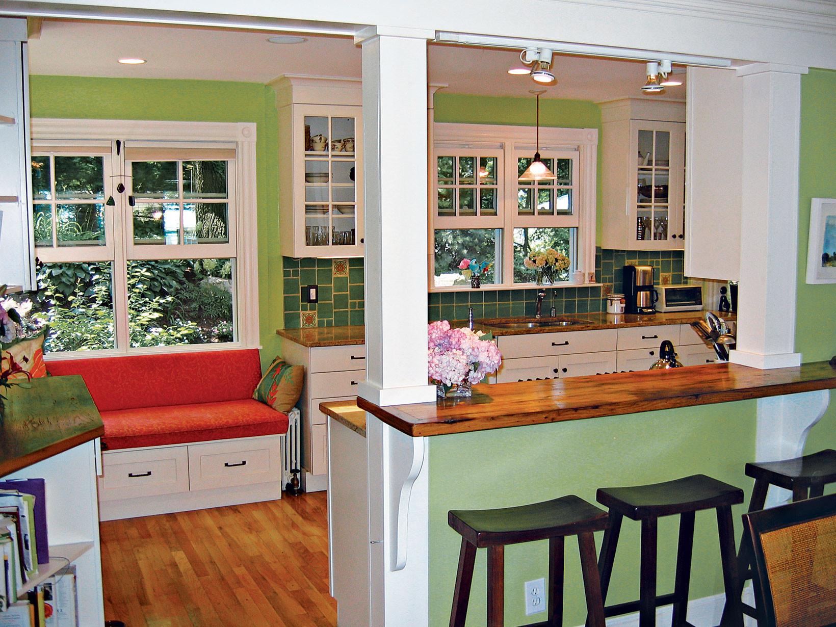 incredible kitchen half wall   Open Way Style Kitchen Half Wall Ideas — Schmidt Gallery ...