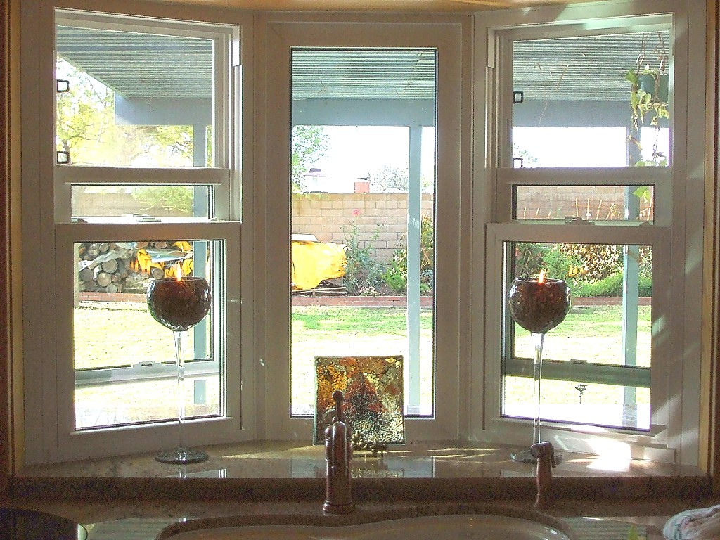 Large Kitchen Bay Window Over Sink — Schmidt Gallery Design