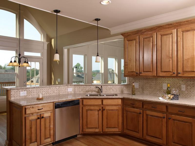 Kitchen Paint Colors with Light Oak Cabinets Ideas Design ...