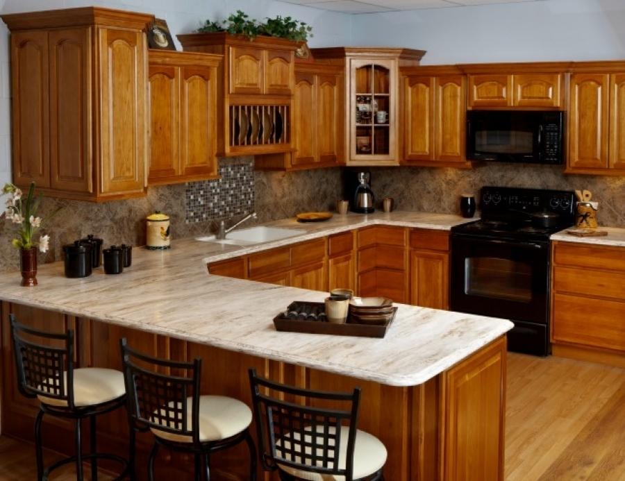 rustic kitchen paint colors oak cabinets | Rustic Kitchen Colors with Hickory Cabinets Ideas ...