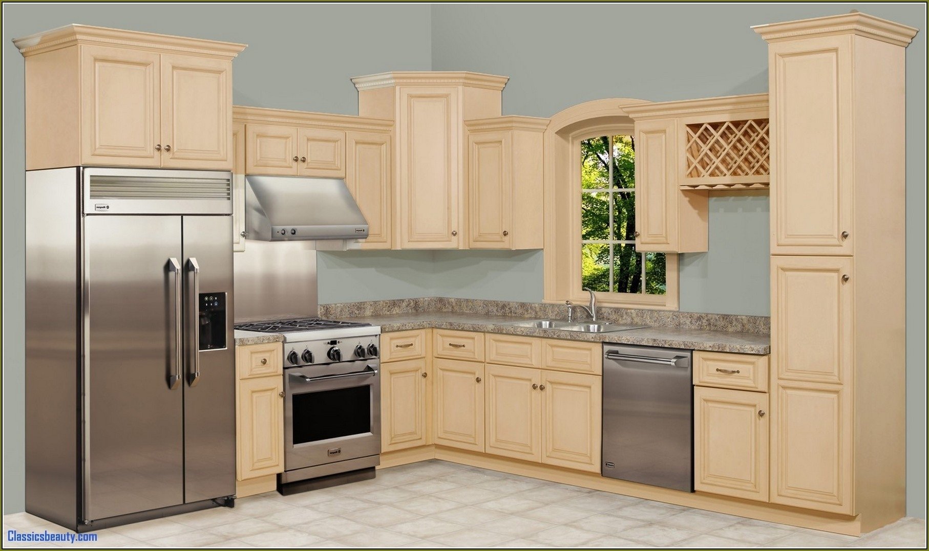 Cheap Unfinished Kitchen Base Cabinets : Schmidt Gallery ...