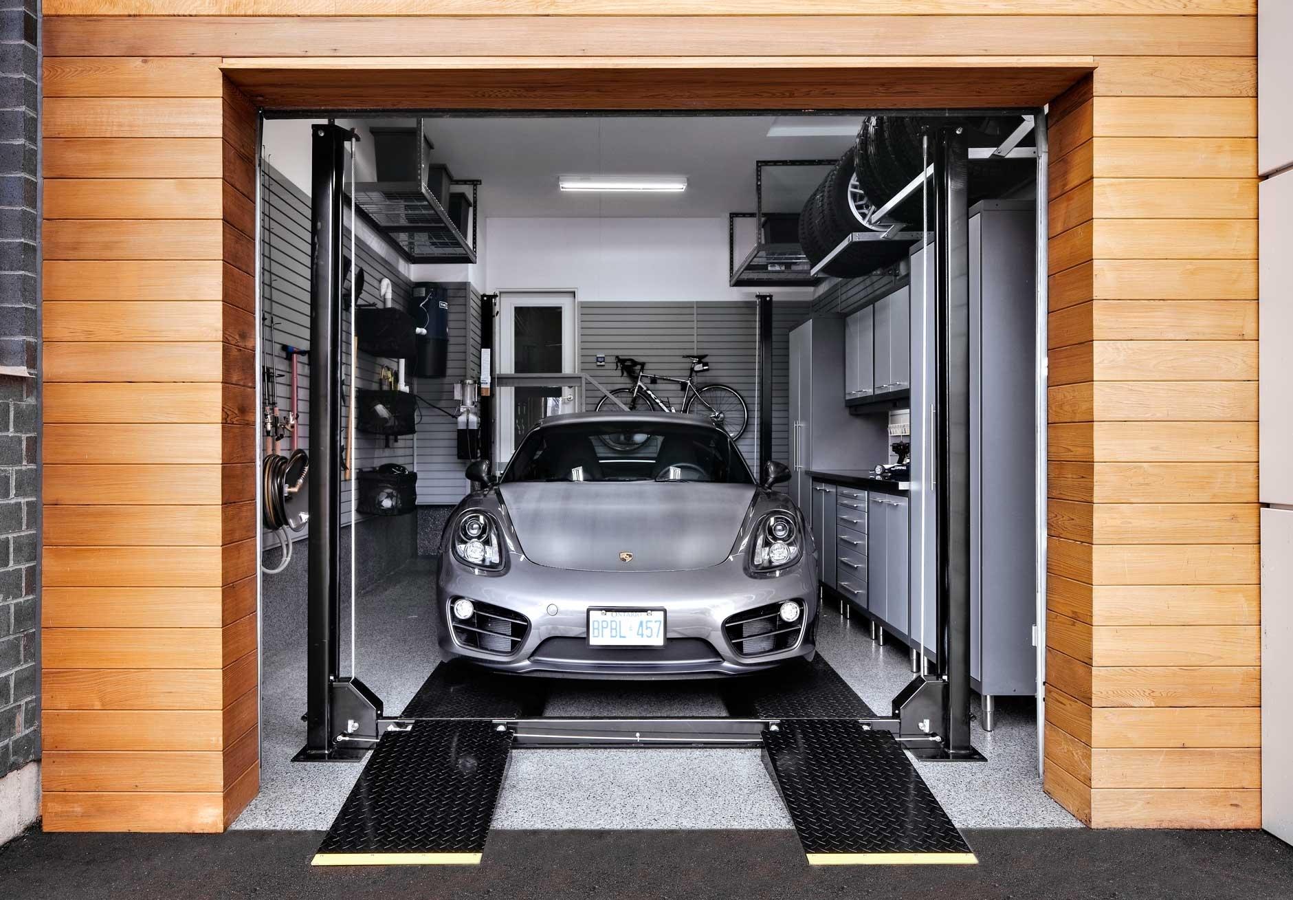 2 Post Car Lift For Home Garage Schmidt Gallery Design