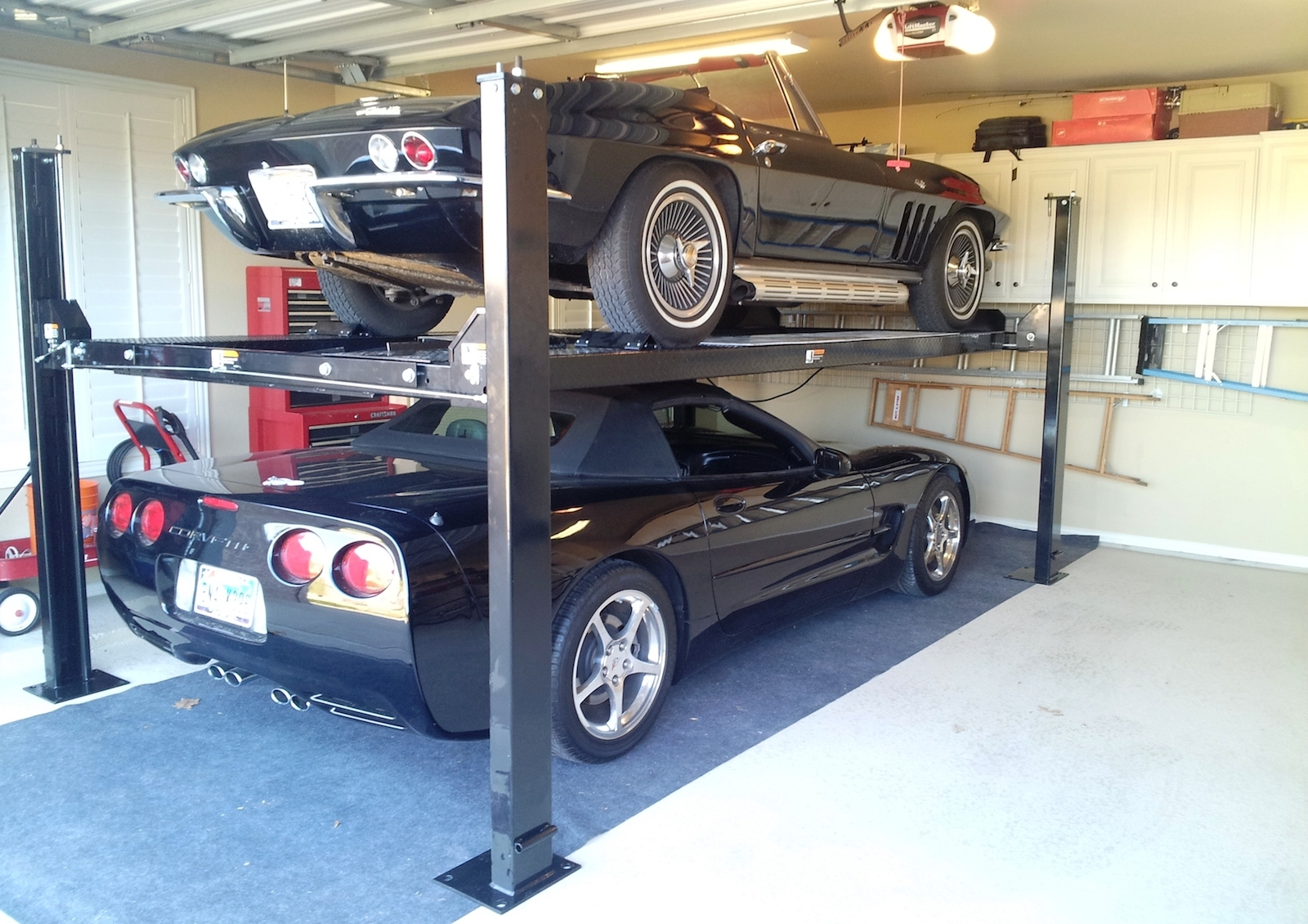 Electric Car Lift For Home Garage Schmidt Gallery Design