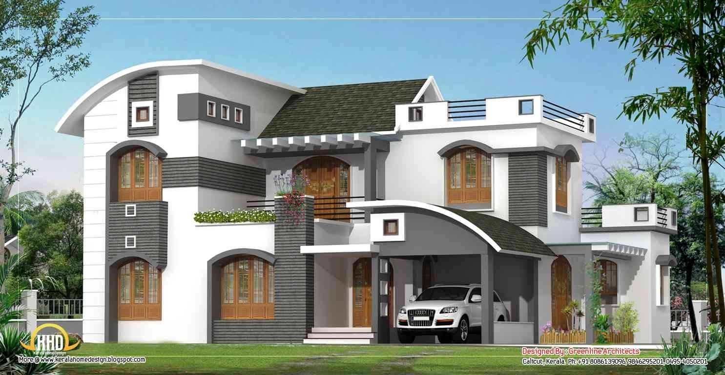 New american modern home plans
